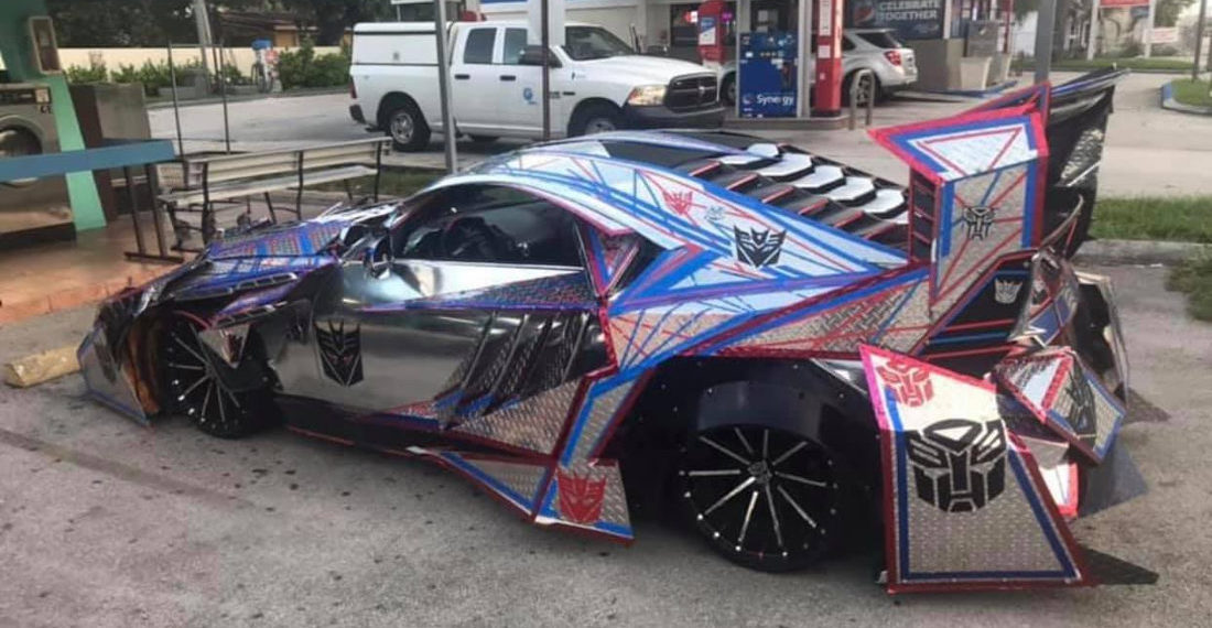 Oh Wow: This Transformer Inspired Extremely Welded Car