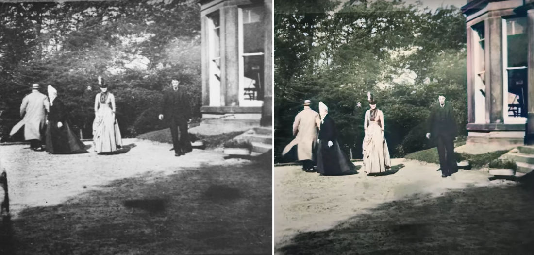 The Oldest Known Video, From 1888, Gets Upscaled To 60FPS Using AI