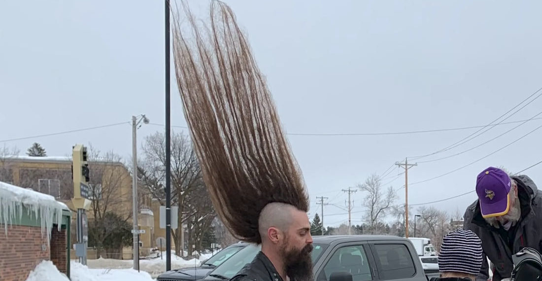 Dare To Dream: 42.6-Inches, The World's Tallest Full Mohawk