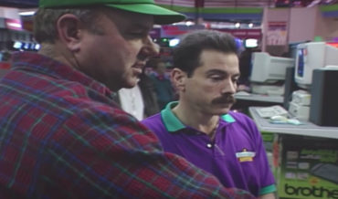 Oh Wow: Vintage Video Of People Shopping For Computers In 1994