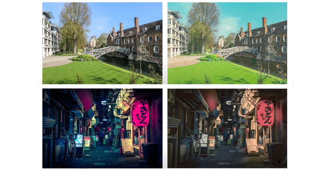 Neural Network Renders Landscape Photos In The Style Of 3 Anime Directors