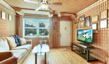 It's Perfect: Florida Condo For Sale With Interior Walls Entirely Covered With Budweiser Beer Cans