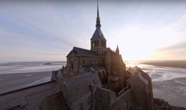 Stunning Drone Fly-Through Of Medieval Castle