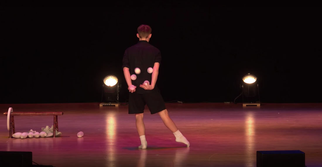 2019 International Jugglers' Association Championships Winning Performance