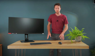 Guy Builds 'Invisible' Computer Inside Table