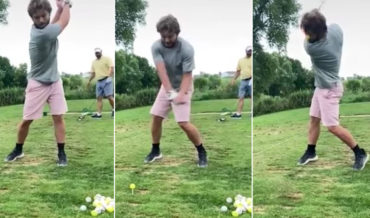 Hole In One: Golfer Hits Ball Into Own Eye