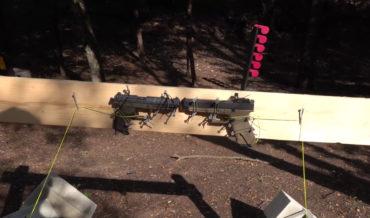 Firing A Handgun Straight Down The Barrel Of Another