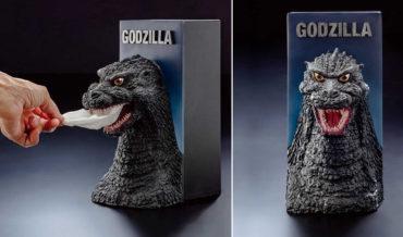 Finally, A Godzilla Bust Tissue Dispenser