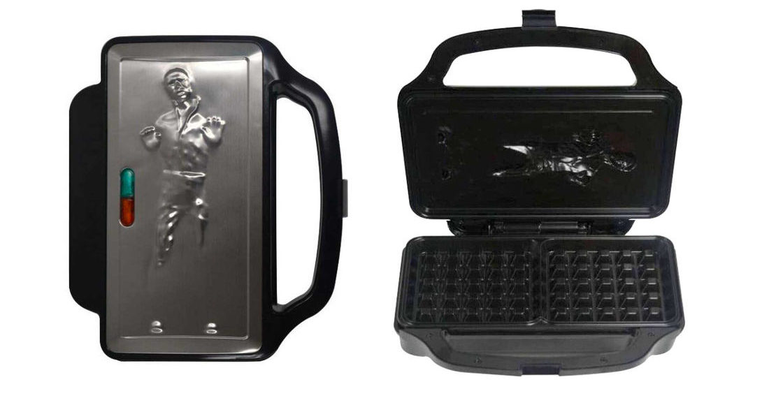 Finally, A Novelty Han Solo In Carbonite Waffle Maker