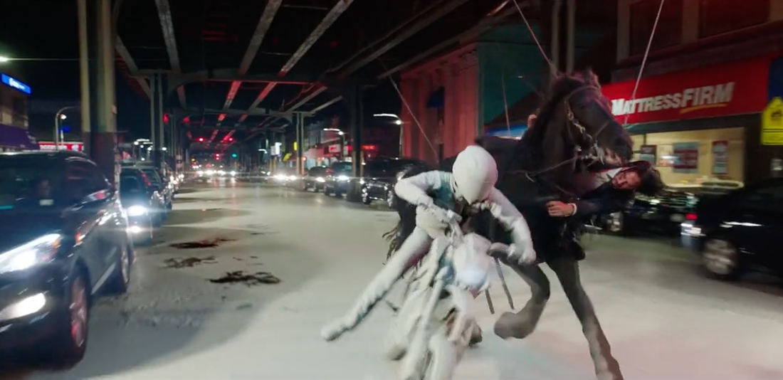 Behind The Scenes Look Of The Composition Of Special Effects In John Wick 3