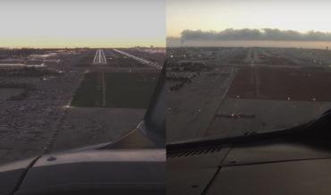 Landing At LAX In Real Life Vs In Microsoft Flight Simulator 2020