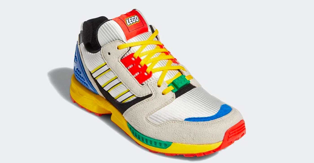 So Colorful: LEGO x Adidas Sneakers