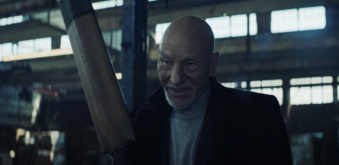 Bat-Wielding Mark Hamill And Patrick Stewart Uber Eats Ad