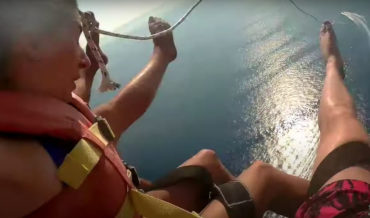 Tow-Cable Snaps During Parasailing Trip