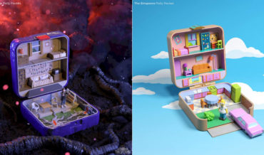 Pop Culture Homes Reimagined As Polly Pocket Playsets