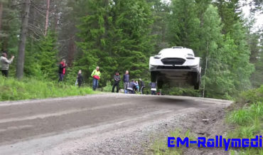 Holy Smokes: Rally Car Driver Flies Through Fastest Course, Catches Sweet Air