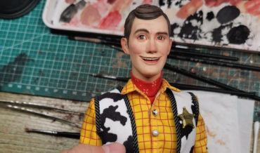 Artist Makes Real Life Toy Story Woody Doll