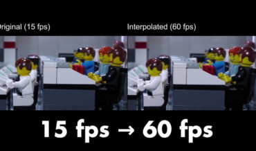 Man Uses AI To Boost LEGO Stop Motion Video From 15 To 60 Frames Per Second