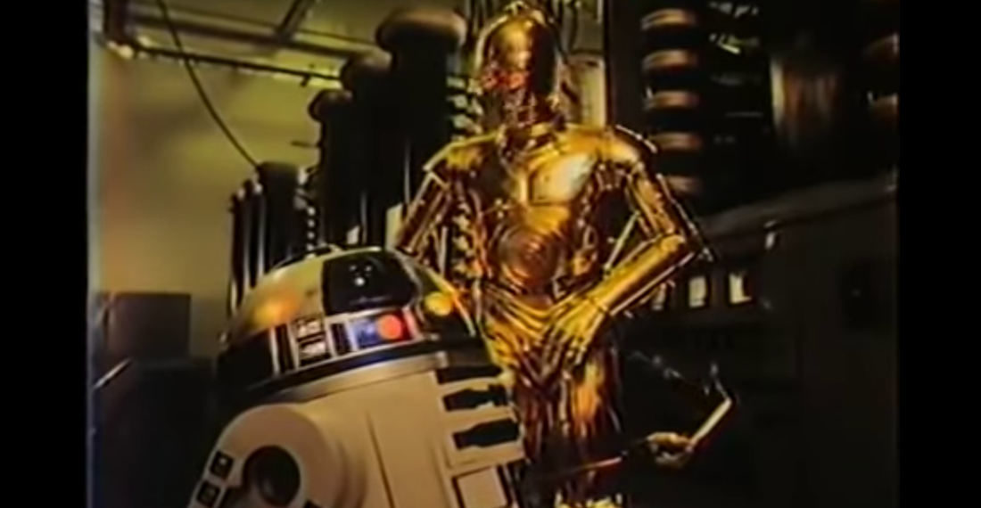 Vintage Star Wars R2-D2 And C-3PO Anti-Smoking Ad