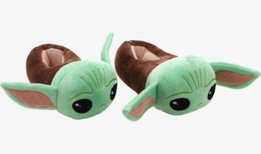 It Was Only A Matter Of Time: The Mandalorian Baby Yoda Slippers
