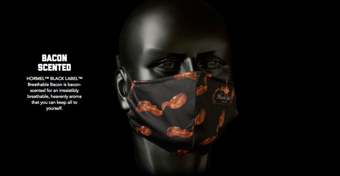 Hormel Giving Away Bacon-Scented Face Masks