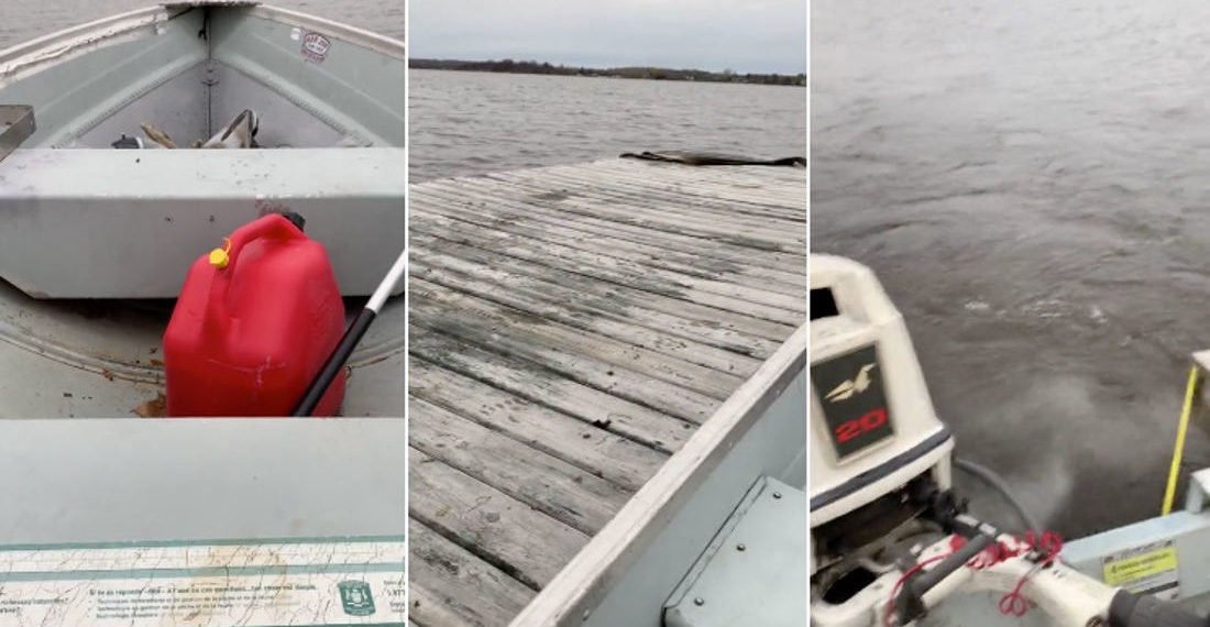 Man's Wife Tells Him Not To Come Home If His Boat Leaves The Dock, He Finds Loophole