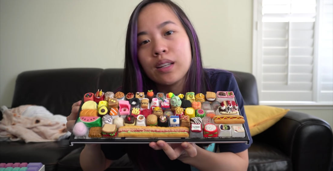 Woman Creates Keyboard With All Custom Food Inspired Keycaps