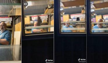 Daughter Scares Dad, Sending Him On A Roller Coaster Of Emotions