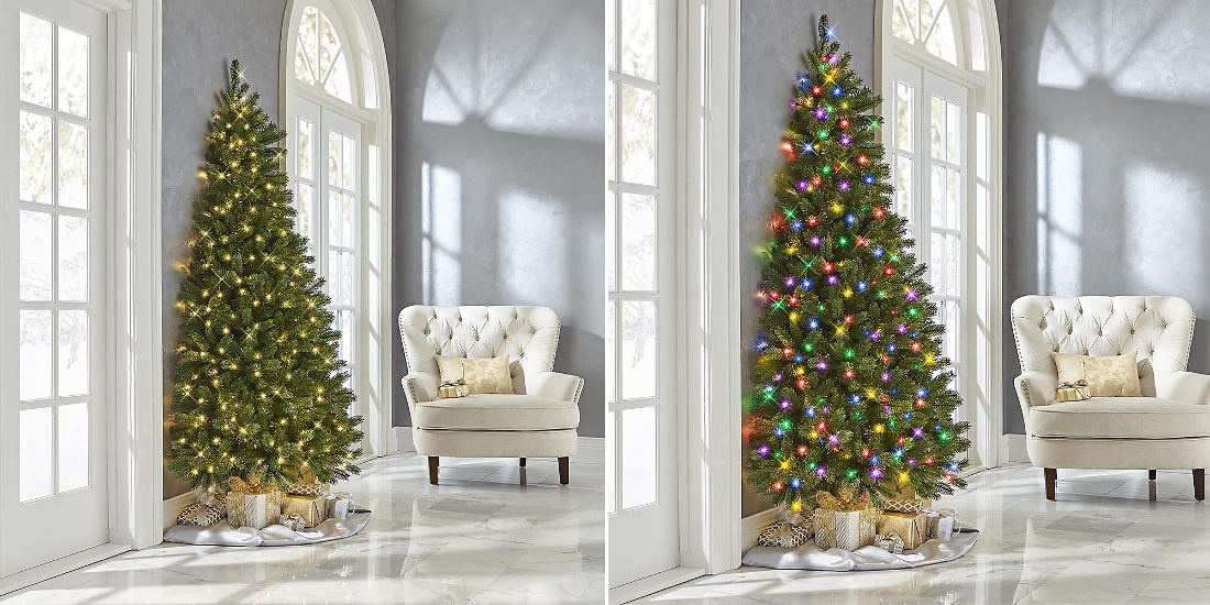 Real Products That Exist: The Against-The-Wall Half Christmas Tree