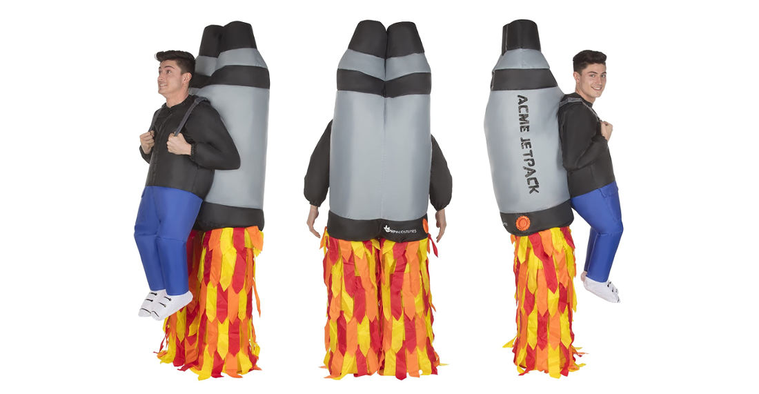 Already Purchased: Inflatable Acme Jetpack Costume