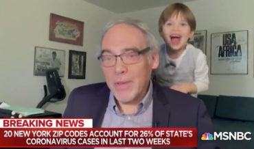 Doctor's Grandson Steals The Show During At-Home Interview
