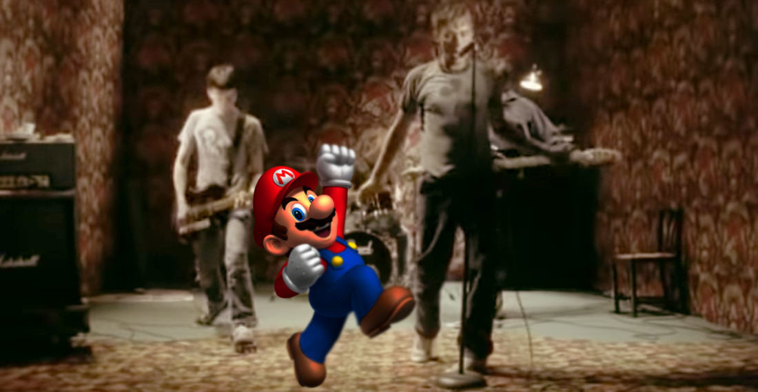 "Oh, Internet: Blur's 'Song 2' With Every ""Woo-Hoo!"" Performed By Mario"