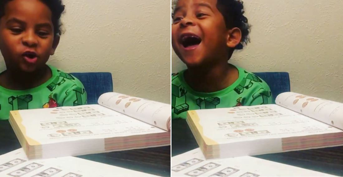 Honest Answers: Kid's Reaction To Money Counting Math Problem