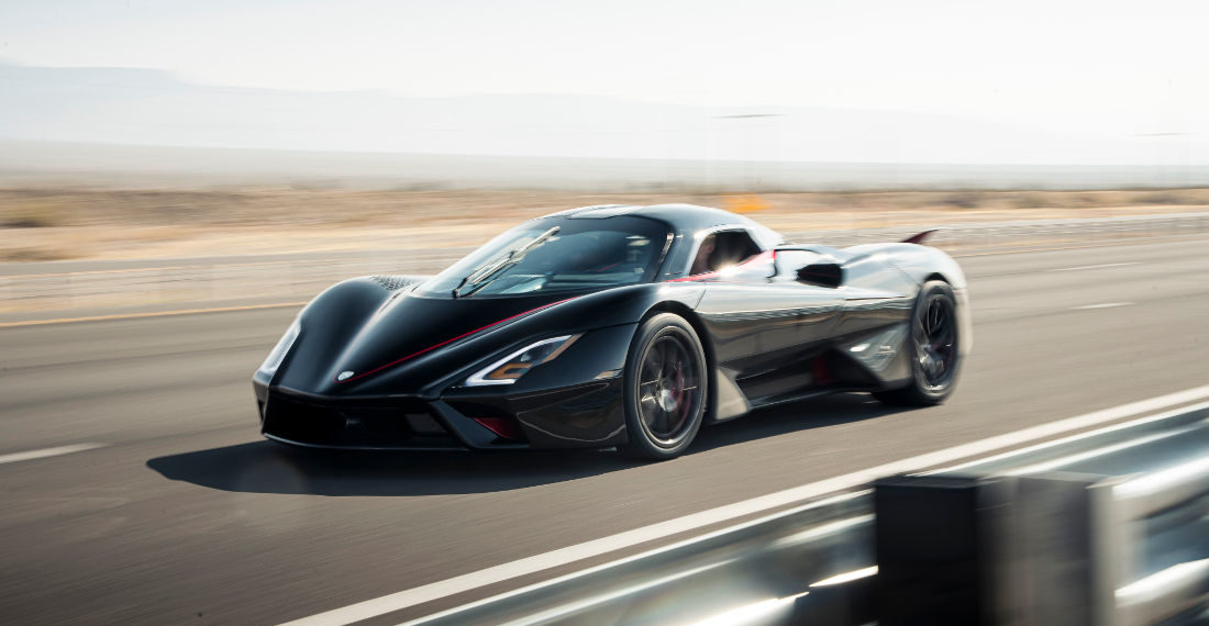 Watch The World's New Fastest Production Car Hit 331MPH