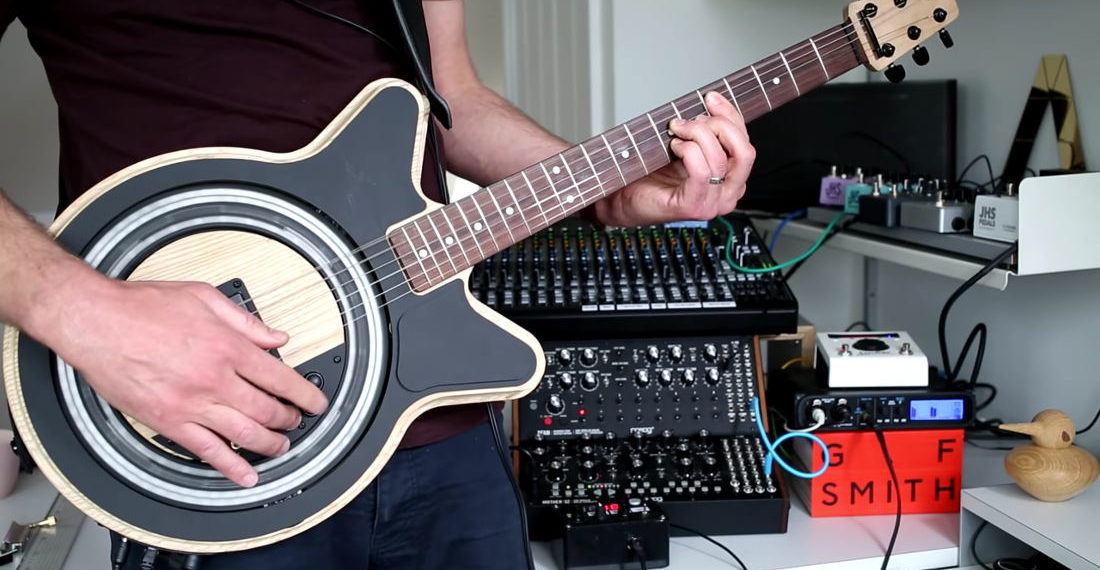 The Circle Guitar, A Guitar That Strums Itself So A Player Only Have To Fret