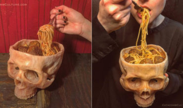 Realistic Human Skull Bowls: I'll Never Eat Out Of Anything Else Again