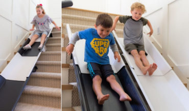 Stairslide: A Modular Slide System For Kids To Ride Down The Stairs