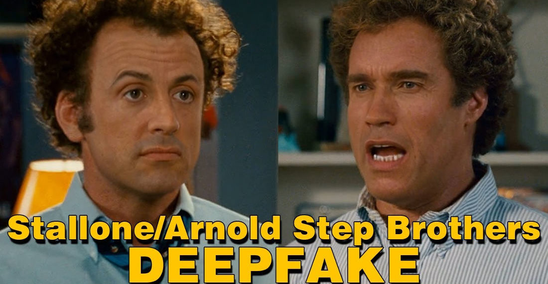 Step Brothers Deepfaked With Sylvester Stallone And Arnold Schwarzenegger