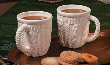 Real Products That Exist: Textured Mugs That Look Like Chunky Knit Sweaters