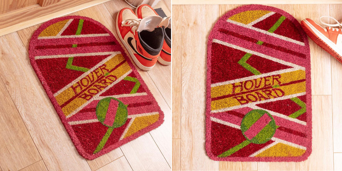 Officially Licensed Back To The Future II Hoverboard Doormat
