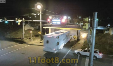 The 11'8″+8″ Bridge Claims RV's Rooftop A/C Units