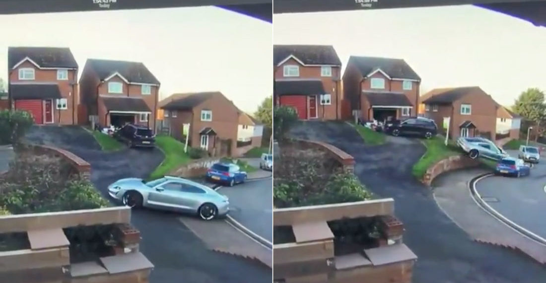 Honey, I'm Home!: Hill Driveway Parking Job Goes Horribly, Horribly Wrong