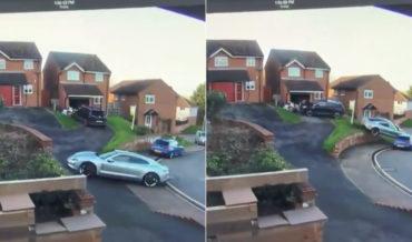 Honey, I'm Home!: Hill Driveway Parking Job Goes Horribly, Horribly Wrong