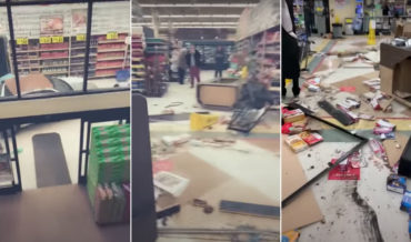 Naked Man Arrested After Driving Car Through Grocery Store