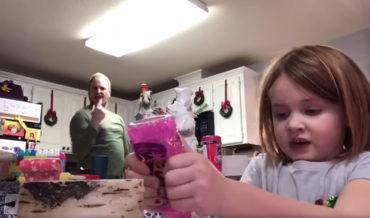 Dad Videobombs Daughter's Online Presentation With Interpretive Dance