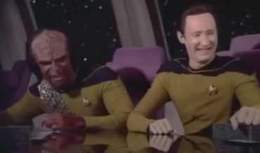 'Data', A Sitcom For Androids Made From Star Trek Footage