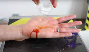 Chemical Reaction Fake Blood And Miraculous Healing Tricks