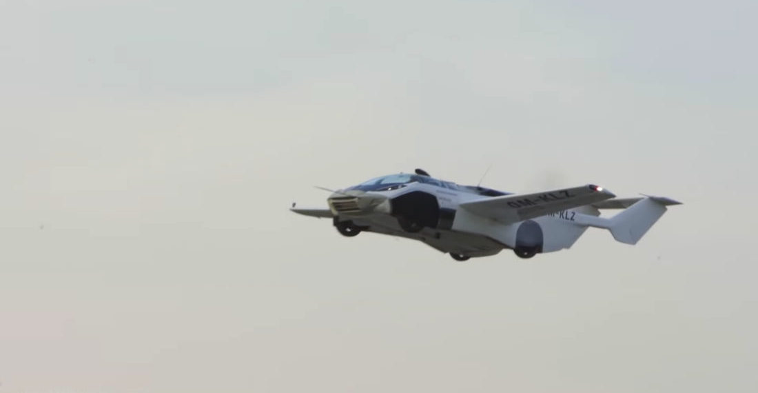 Company's Flying Car Prototype Takes Maiden Flight