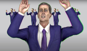 Half-Life's G-Man Remakes The Talking Heads 'Once In A Lifetime' Music Video