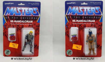 He-Mandalorian, He-Man/Mandalorian Mashup Action Figures